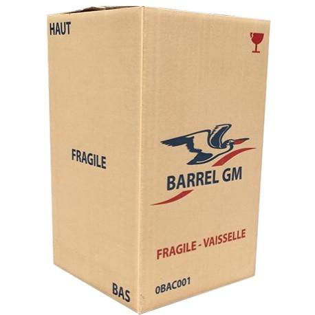 Carton Barrel pour vaisselle
